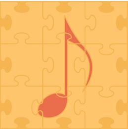 Puzzle piece music